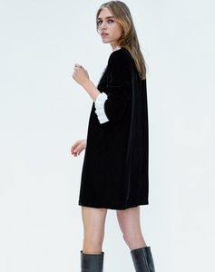 Zara Dresses - Zara Velvet Dress